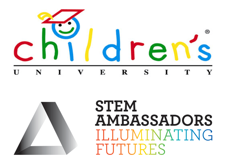 Children's University and STEM Ambassadors Logo