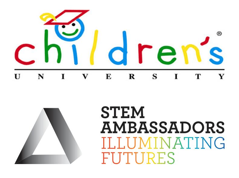 Children's University and STEM Ambassadors Logo