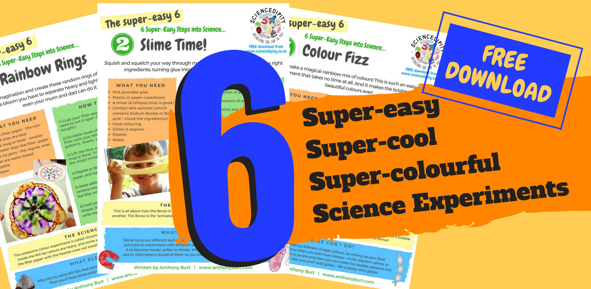 6 super easy science experiments