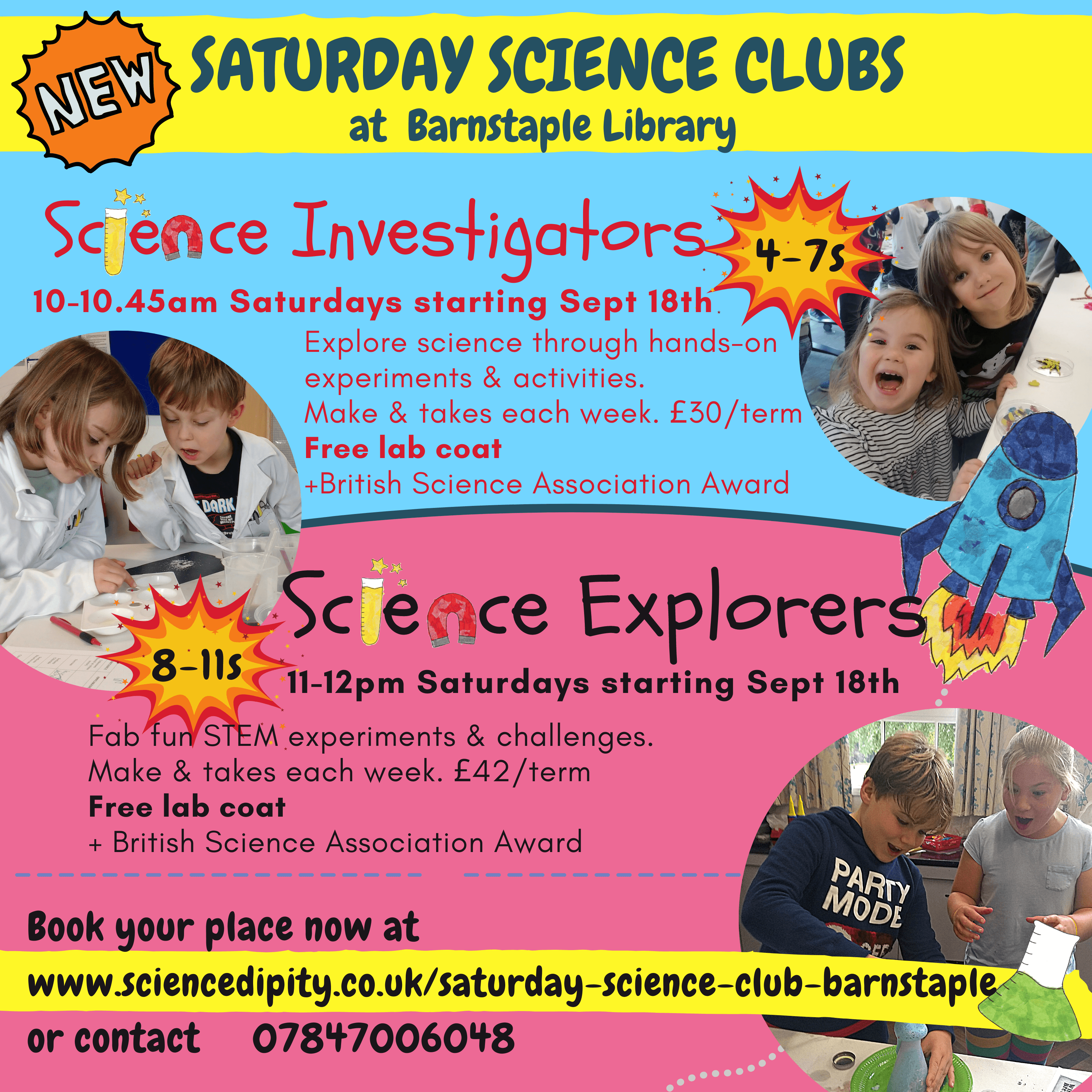 saturday science club
